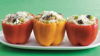 Veggie-Stuffed Peppers