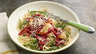 Skinny Easiest Chicken Parmesan