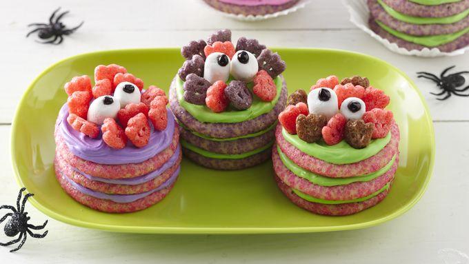Monster Cookie Stacks