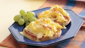 Scrambled Eggs Benedict