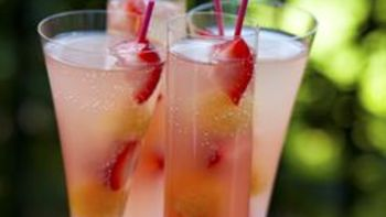 Coconut Champagne Punch