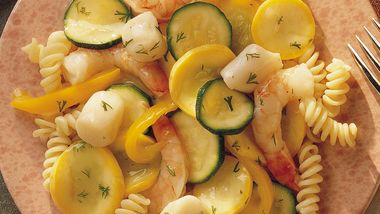 Lemon Seafood with Pasta