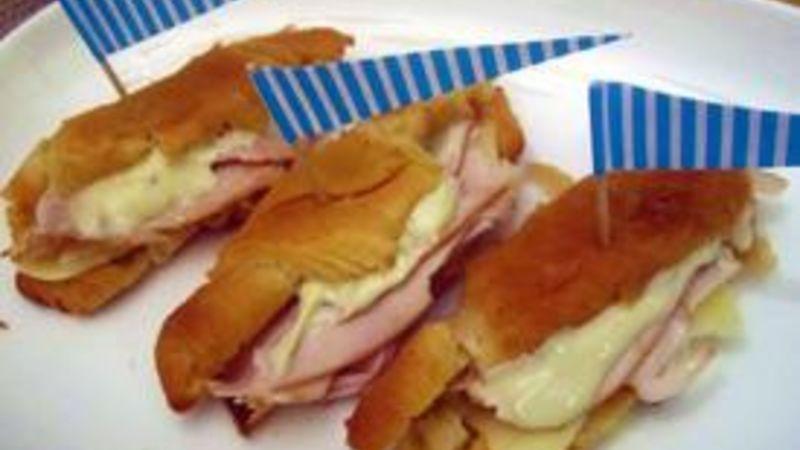 Next Day Bite Size Turkey Sandwiches