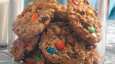 Wheat-Free Monster Cookies