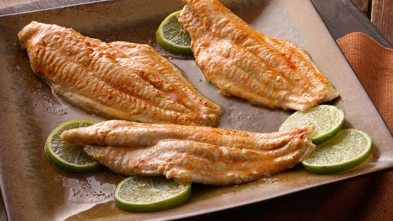 Baked fish fillets recipe from betty crocker for How to cook fish fillet