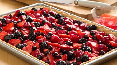 Fresh Berry Slab Pie