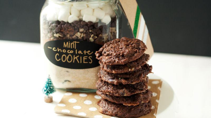 Mint-Chocolate Cookies