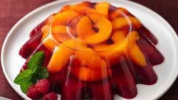 Peach Melba Molded Salad