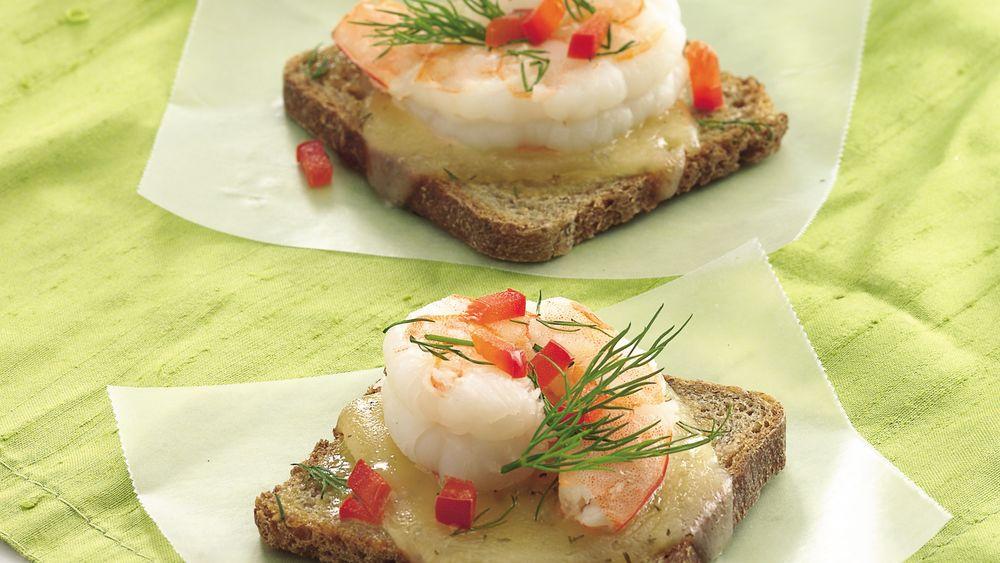 Dill Havarti-Shrimp Appetizers