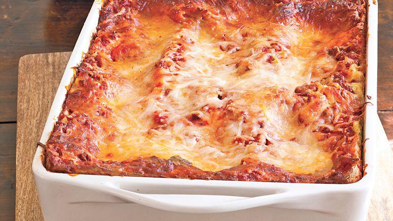 Cheesy Beef Lasagna Recipe From Betty Crocker