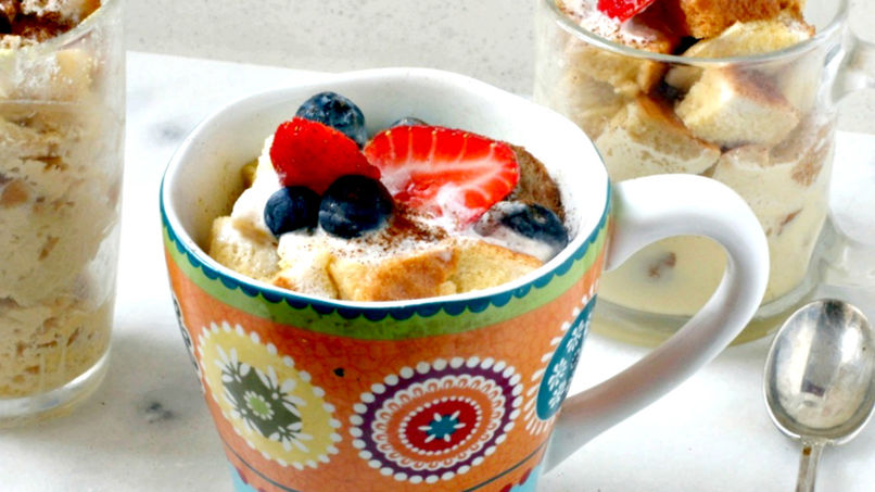 Tres Leches French Toast in a Mug