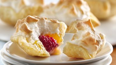 Mile-High Lemon Meringue Mini Pies