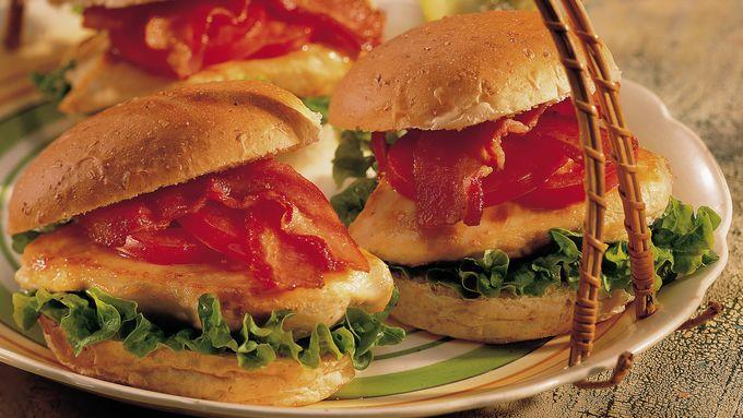 Chicken BLT Sandwiches