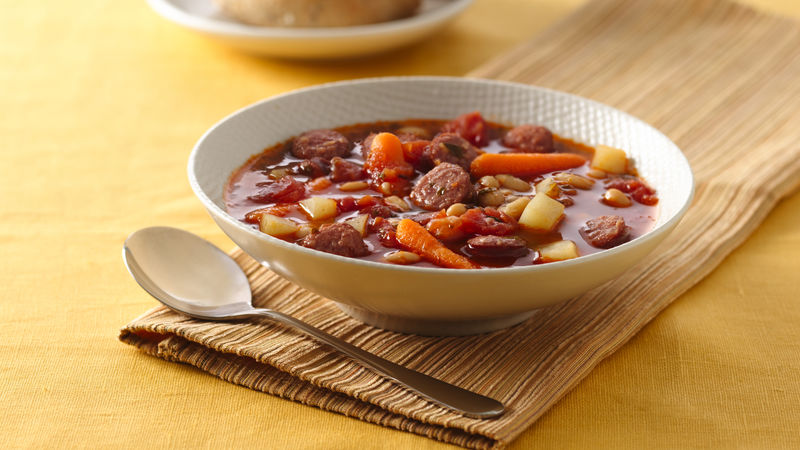Bratwurst and Vegetable Soup