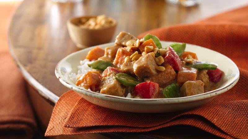 Spicy Thai Pork Stew