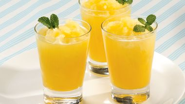 Orange-Mint Slush