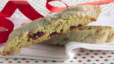 Cranberry-Pistachio Biscotti