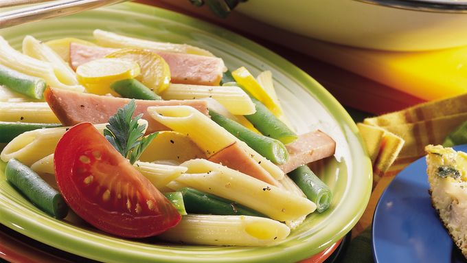 Harvest Green Beans, Ham and Penne