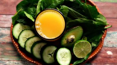 Cucumber, Avocado and Spinach Smoothie