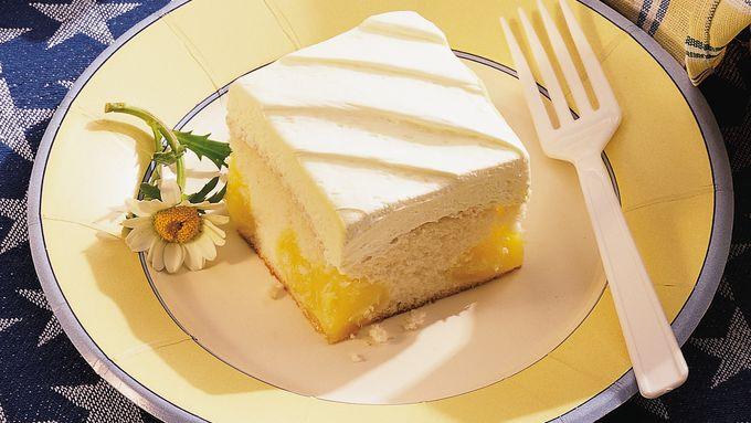 Pockets of Lemon Cake