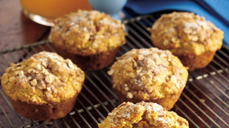 Carrot-Oat Muffins