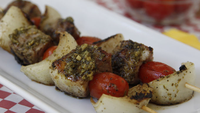 Easy Grilled Pork Skewers