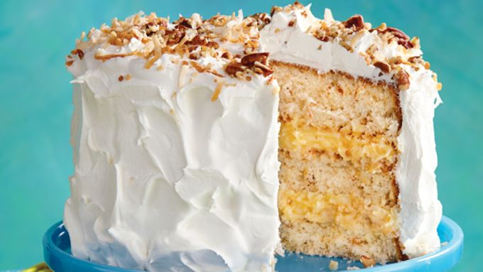 Coconut-Pecan Layer Cake