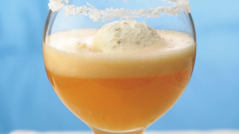 Dreamy Tropical Cream Fizz