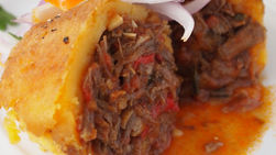 Potatoes Stuffed with Ropa Vieja