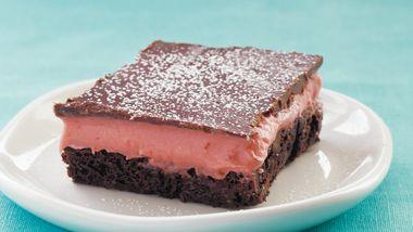 Gluten-Free Strawberry Truffle Brownies