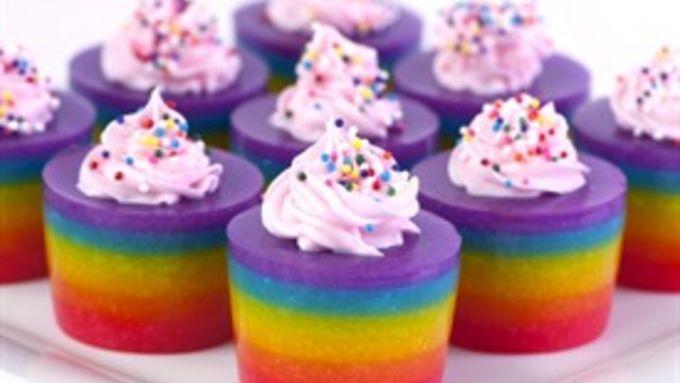 Vodka Jelly Cake Recipe: Double Rainbow Cake Jello Shot Recipe