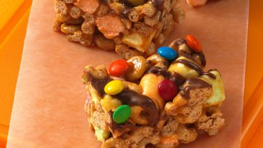 No-Bake Caramel Cheerios™ Bars