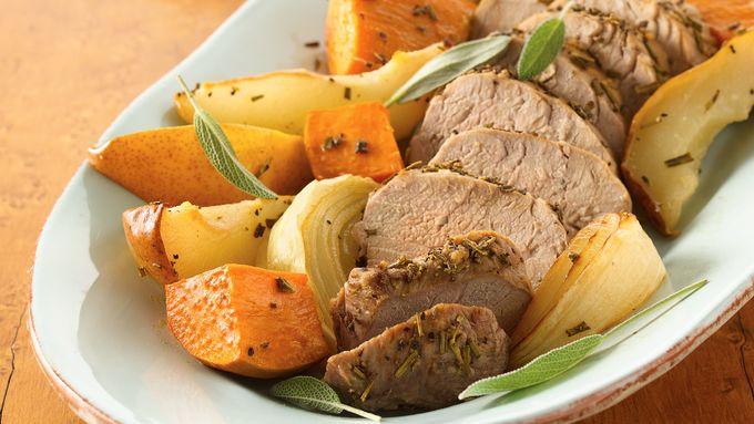 Gluten-Free Rosemary Roasted Pork Tenderloin