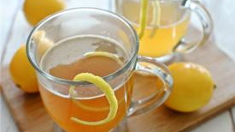 Meyer Lemon Hot Toddy