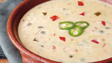 Slow-Cooker Spicy Queso Dip