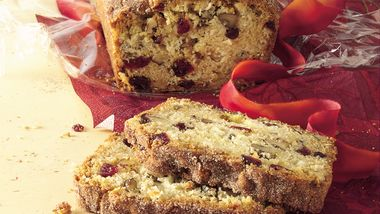 Cranberry-Apple-Nut Bread