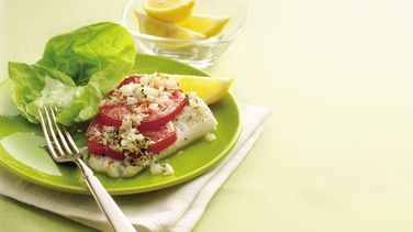 Lemony Fish and Tomatoes