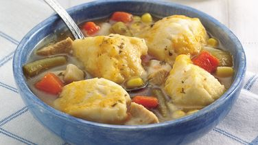Easy Chicken and Dumplings for Two