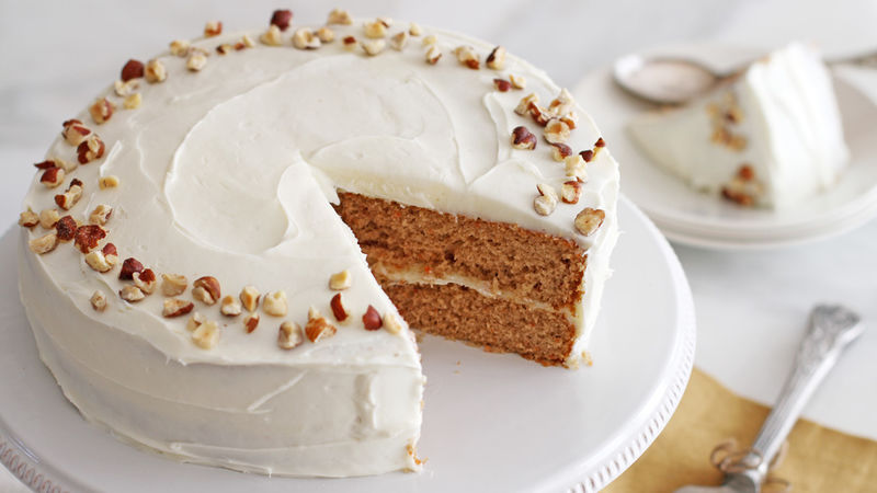 Buttercream Ice Carrot Cake