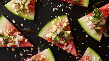Watermelon Salad Wedges