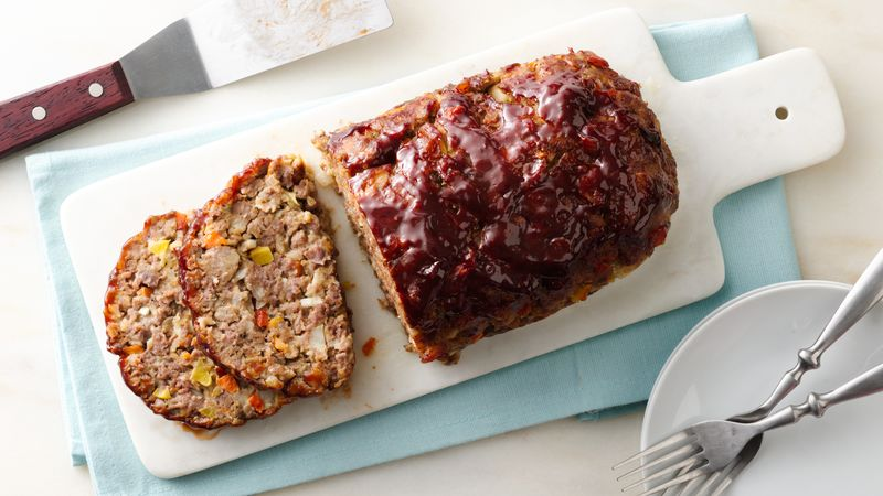 Loaded Vegetable Meatloaf