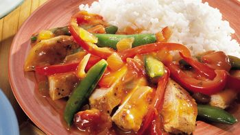 Orange-Cumin Chicken and Vegetables