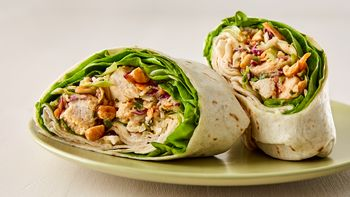 Thai Chicken Salad Wraps