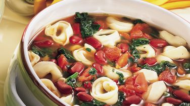Tortellini and Bean Soup