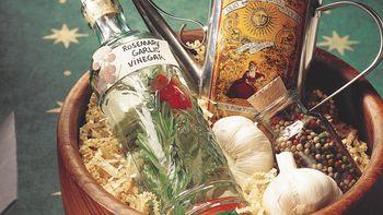 Rosemary-Garlic Vinegar