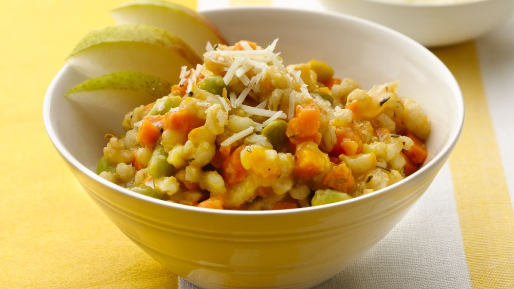 Slow-Cooker Sweet Potato and Barley Risotto recipe from Pillsbury.com