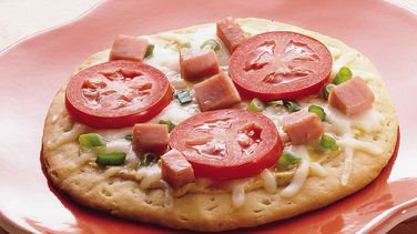 Ham and Swiss Grands!® Pizzas