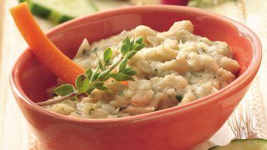 Dip de Frijol Blanco con Parmesano