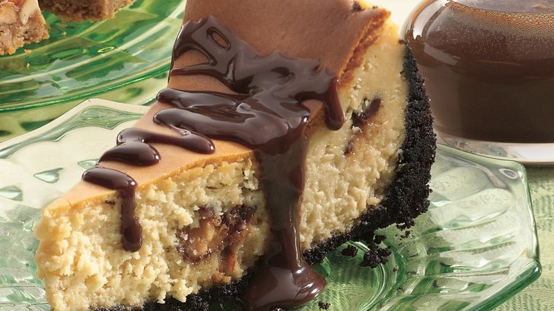 Snickers™ Triple Chocolate Cheesecake