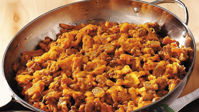 Macaroni and Cheese Goulash